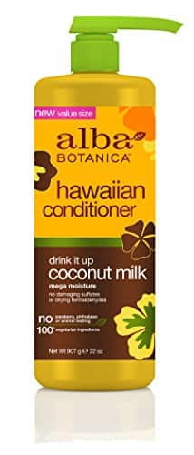 32 oz Alba Botanica™ Hawaiian Conditioner [Coconut Milk] $13.04