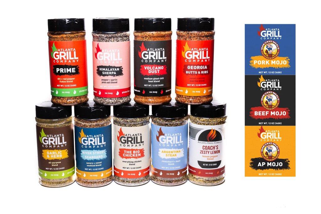 AGC Complete Rub Set $59.99 (54% off) Atlanta Grill Company until 11/12/2019 $54.99