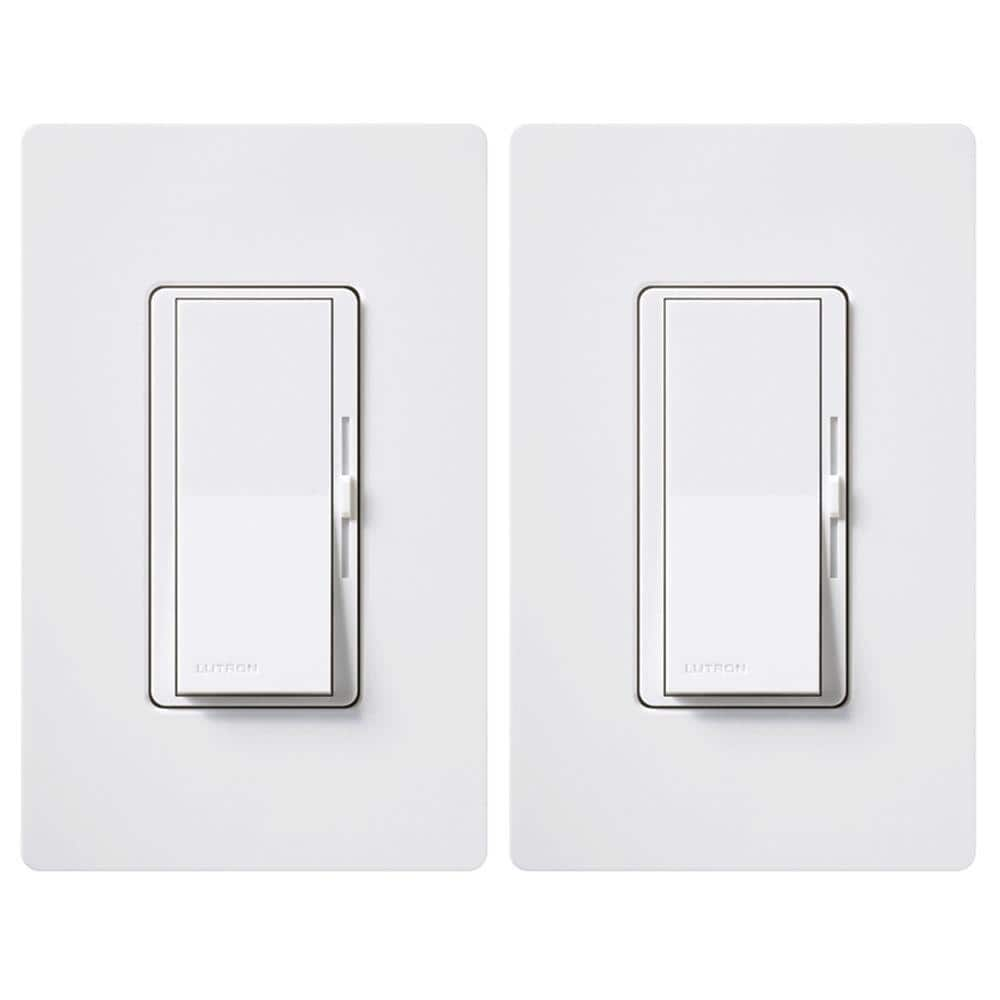 Home Depot Lutron dual pack 150 watt dimmer for LEDCFL switches