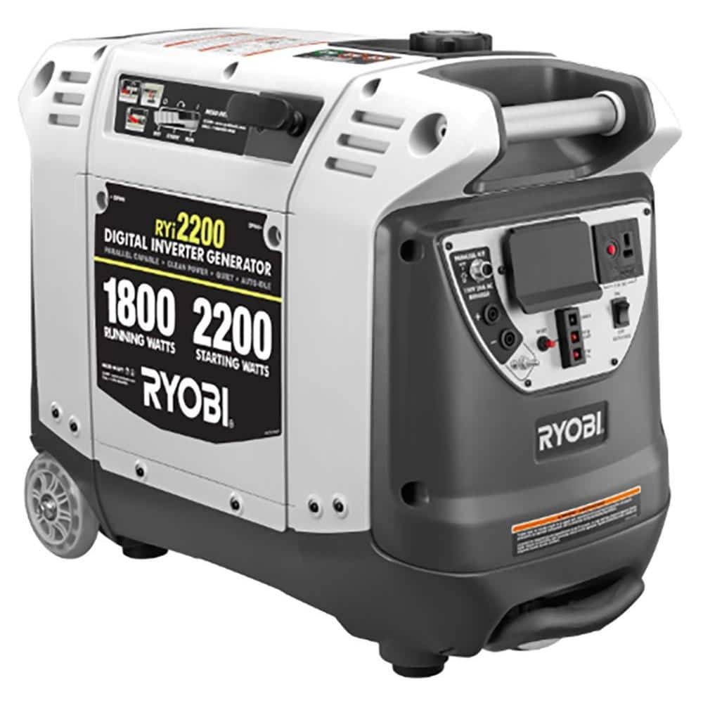 Ryobi 2,200Watt Gasoline Powered Digital Inverter Generator  Slickdeals.net