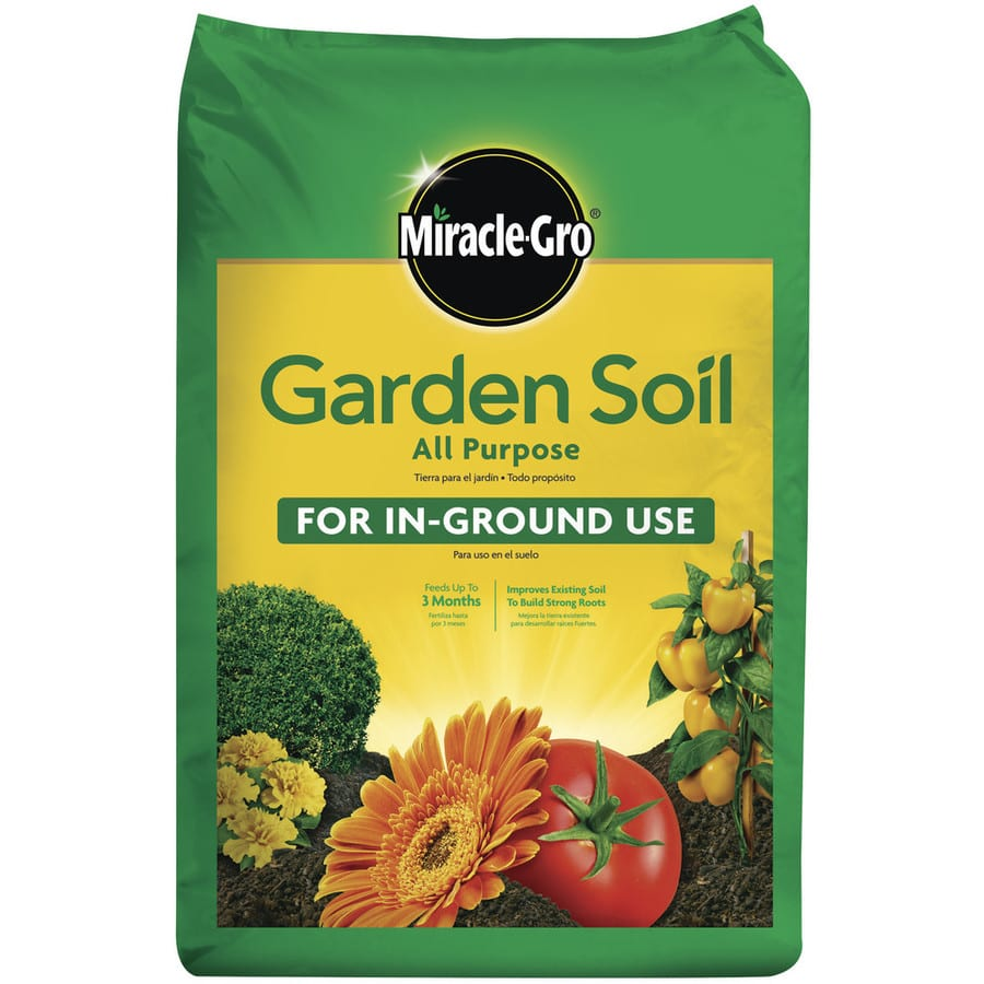 Lowes Miracle Grow garden soil .75 cu. ft. $2.50 (4 for $10) 6-29-17 ...