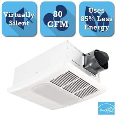 Home Depot Delta Breez Radiance Series 80 CFM Ceiling Exhaust Bath Fan with Light and Heater $77 & other bath fans free shipping 7-29-17 only