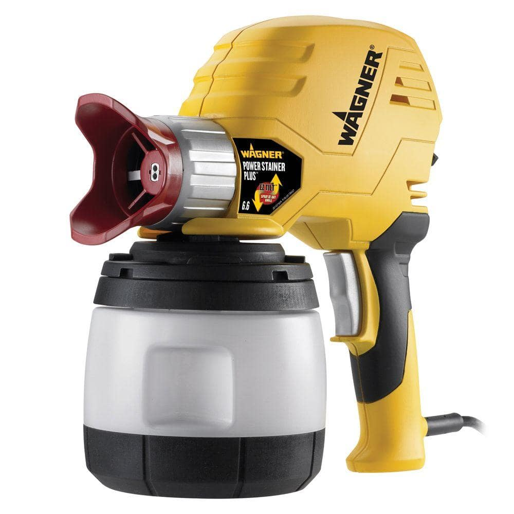 Home Depot  Wagner Power Stainer Plus 6.6 GPH Paint Sprayer with EZ Tilt Technology $79  Free shipping 8-30-17 only