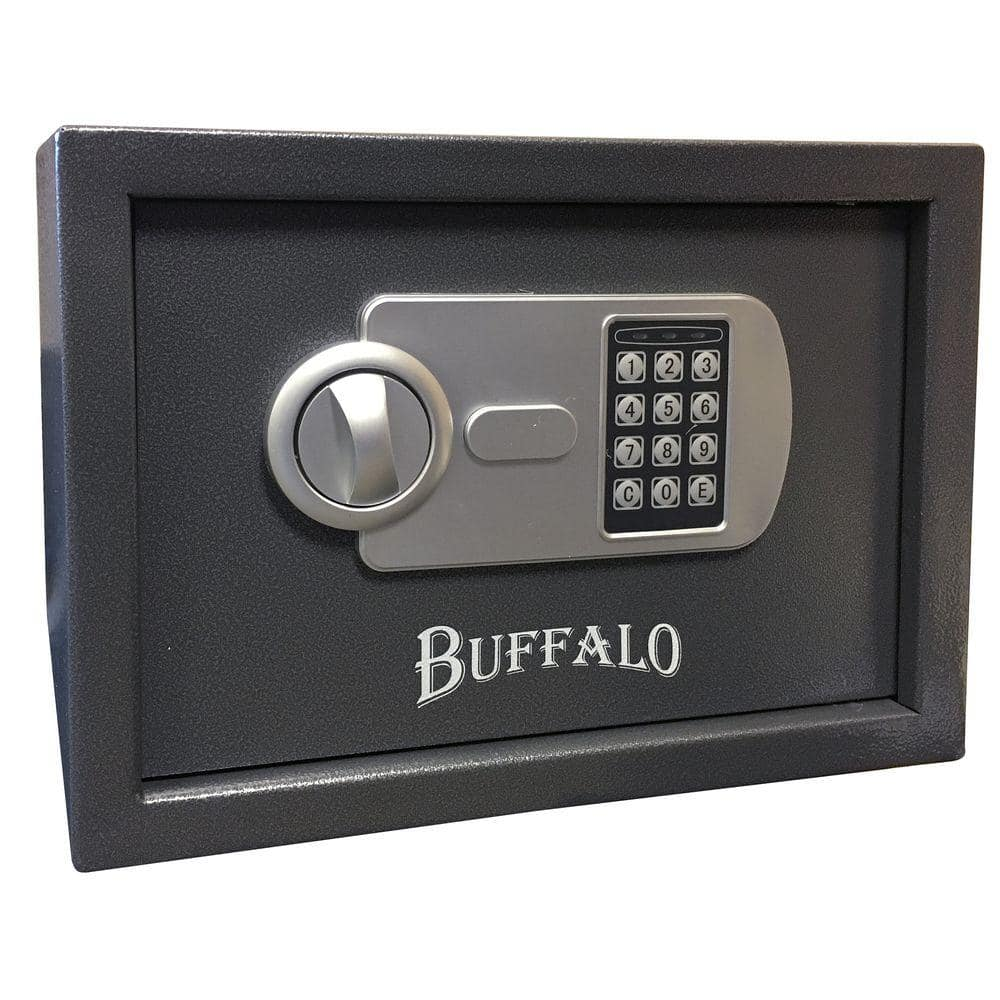 Wall Safe Home Depot home depot buffalo 0.57 cu. ft. steel portable handgun safe with