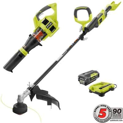 Home Depot Ryobi 40-Volt Lithium Cordless Jet Fan Blower/ Trimmer w/ 3.0 Ah Battery/Charger $172, Ryobi 1700 psi pres. washer $130, snow blowers & more free shipping 10-10-17 only