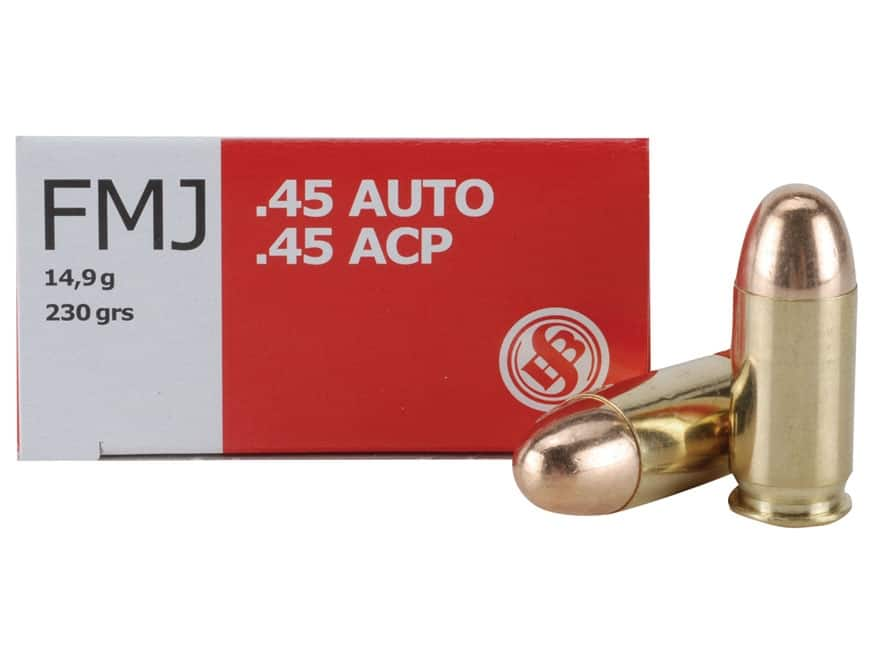 Ammo 45 Full Metal Jacket @MidwayUSA Sellier & Bellot 45 ACP AUTO 230 Grain Full Metal Jacket $.26/rnd 1000 round box ($260) free shiping 10-21-17 only (non-Missourian no tax) $258