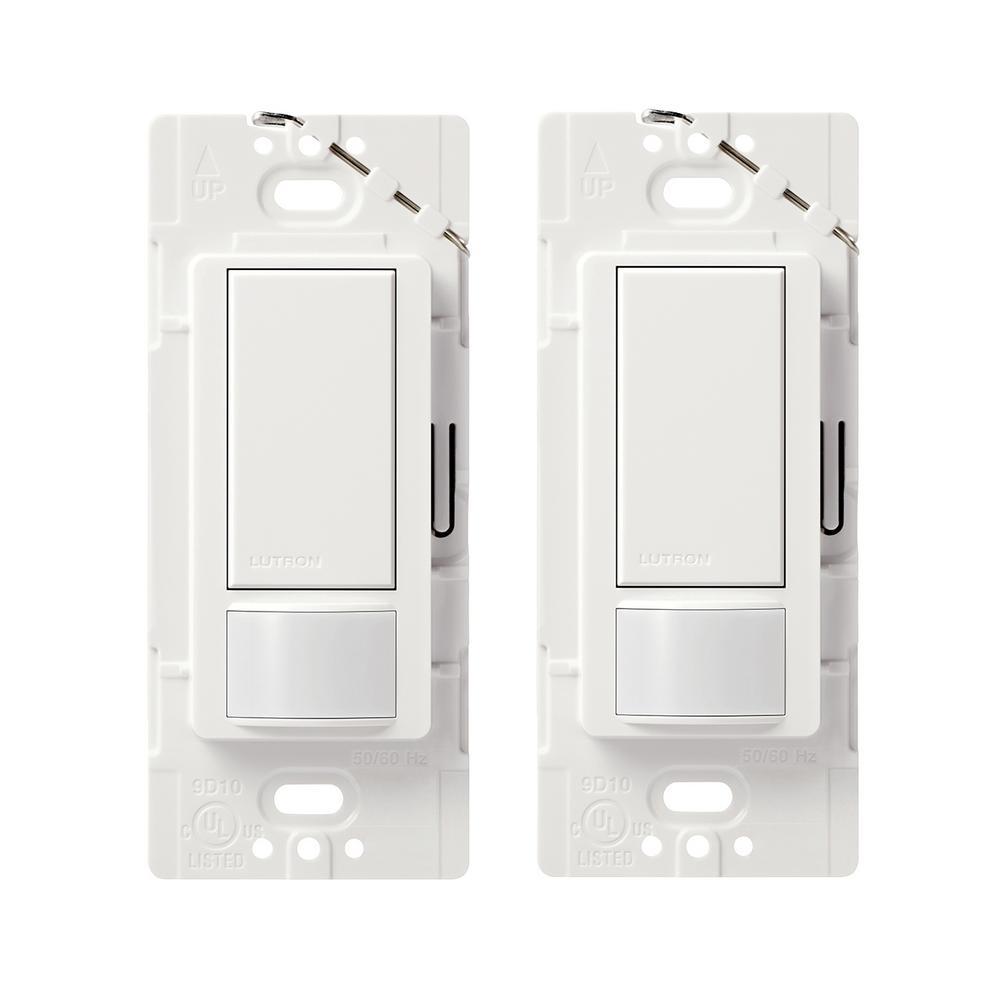 Home Depot Lutron switches deals ex. Lutron Maestro Motion Sensor ...