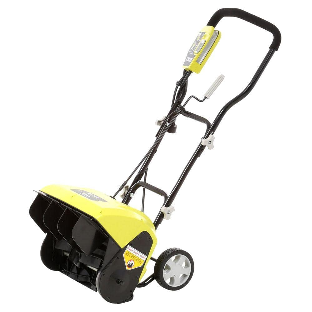 "Ryobi 16"" 10-Amp Corded Electric Snow Blower - Slickdeals.net"