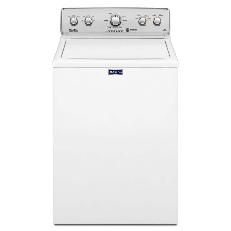 Lowes Maytag 3.6-cu ft High-Efficiency Top-Load Washer (White) $379 free delivery 2-17-18 only