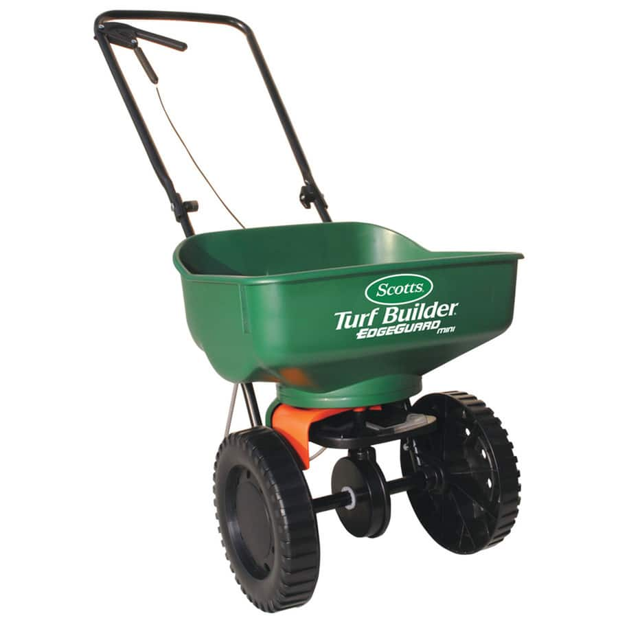 Lowes Scotts Turf Builder 23-lb Broadcast Spreader $25 in store 4-14-18 only