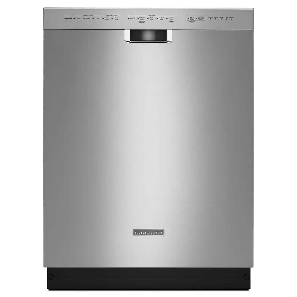 Home Depot daily deal:KitchenAid 24 in. Front Control Built-in Tall Tub Dishwasher in Stainless Steel with Stainless Steel Tub and ProWash Cycle $549 Free delivery 5-6-18 only