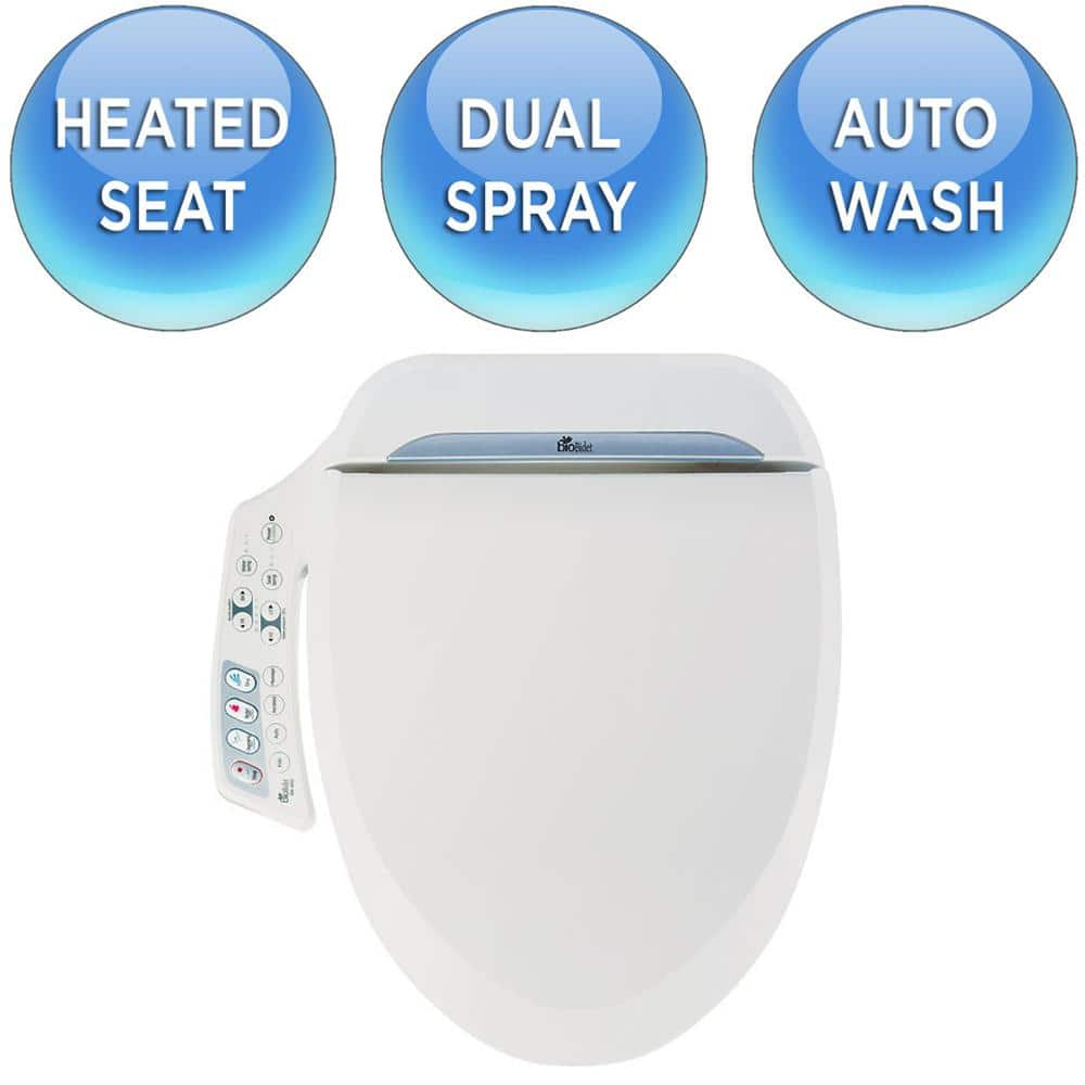Home Depot or Amazon bioBidet Ultimate Electric Bidet Seat for Round Toilets in White $234  (20% off), elongated $239, & more Free Shipping 5-16-18 only