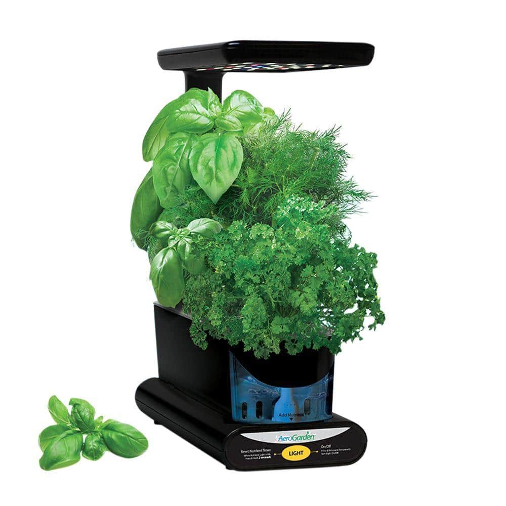 Home Depot  & Amazon Miracle-Gro AeroGarden Sprout LED with Gourmet Herb Seed Pod Kit $60, Aerogarden elite $100 & more Free Shipping 5-18-18 only