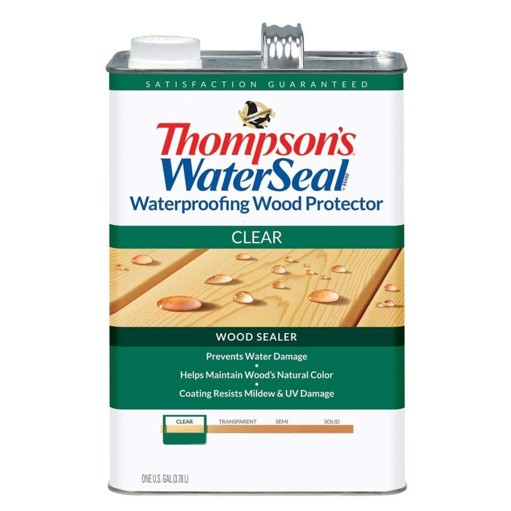 Home depot Thompson's WaterSeal 1 gal. Clear Waterproofing Wood Protector $10 (usually $16.50) in store 5-23-18 only $9.97