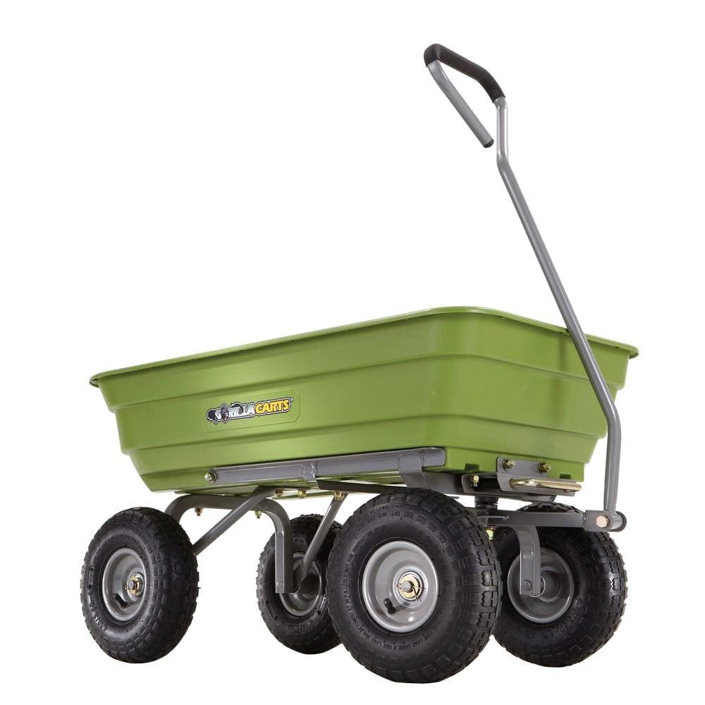 Home Depot 600 Lb Poly Garden Dump Cart 55 Free Shipping 5 23 18 Only