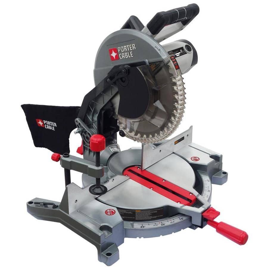 Lowes Porter Cable 12-in 15-Amp Single Bevel Compound Miter Saw $99 ...