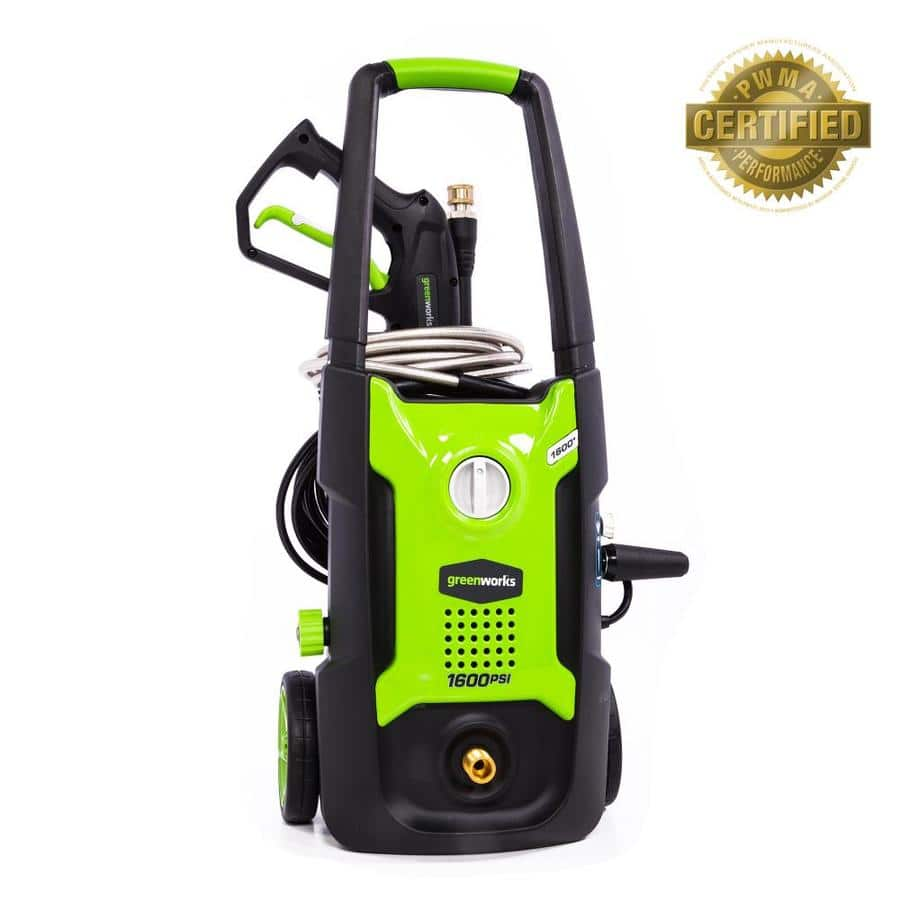Greenworks 1600-PSI 1.2-Gallon-GPM Cold Water Electric Pressure Washer $69  free store pick up (free parcel shipping in some areas YMMV) 8-4-18 only