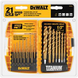 Lowes DEWALT Tough Grip 35-Piece Screwdriver Bit Set  $20, 21 pc Titanium set $20, & more Free Shipping 9-12-18 only