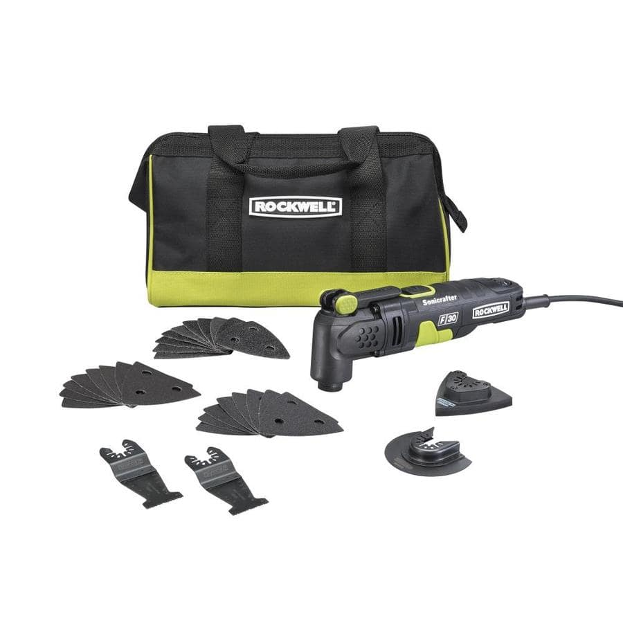 Lowes ROCKWELL Sonicrafter 32-Piece Corded 3.5-Amp Oscillating Multi-Tool Kit  $49  Free Shipping 11-28 thru 11-29-18 only