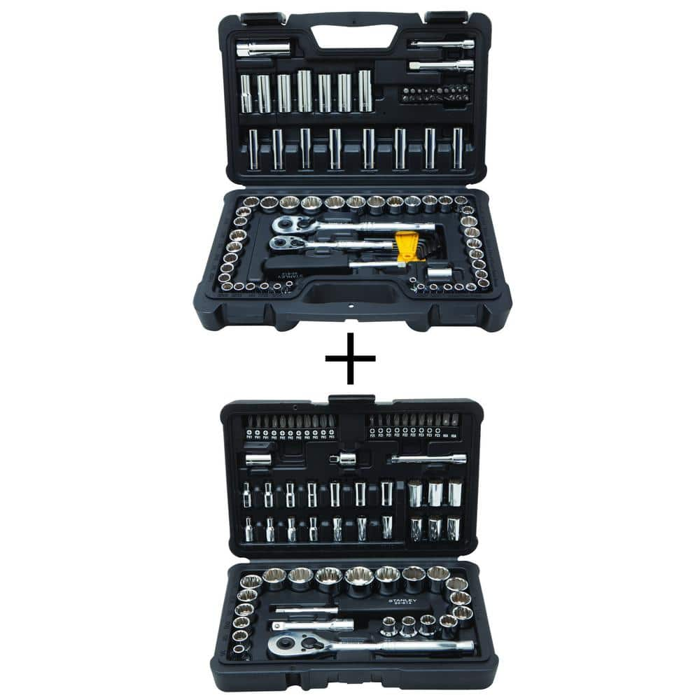 d62f8c72e Power Tools Kits  Stanley 97-Piece + Bonus 68-Piece Mechanics Tool ...