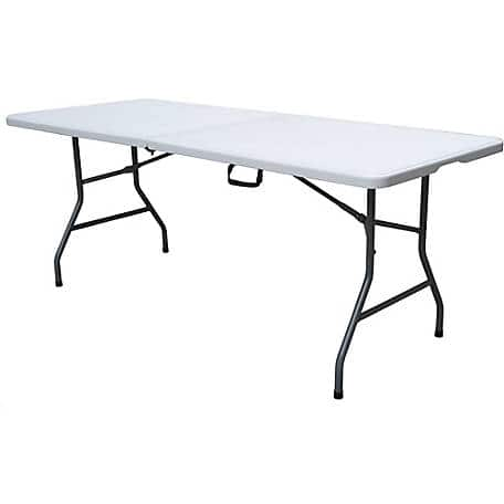 Peachy Target 6 Folding Banquet Table Off White Plastic Dev Group 30 Free Pickup Tractor Supply Has Free Shipping For 49 Or More Home Interior And Landscaping Synyenasavecom