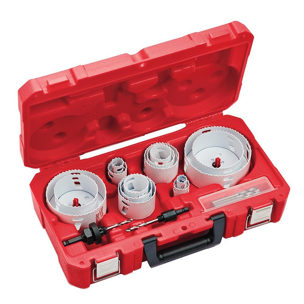Home Depot Milwaukee Hole Dozer Electricians Bi-Metal Hole Saw Set (19-Piece)  $99 & more Free Shipping 3-7-19 only