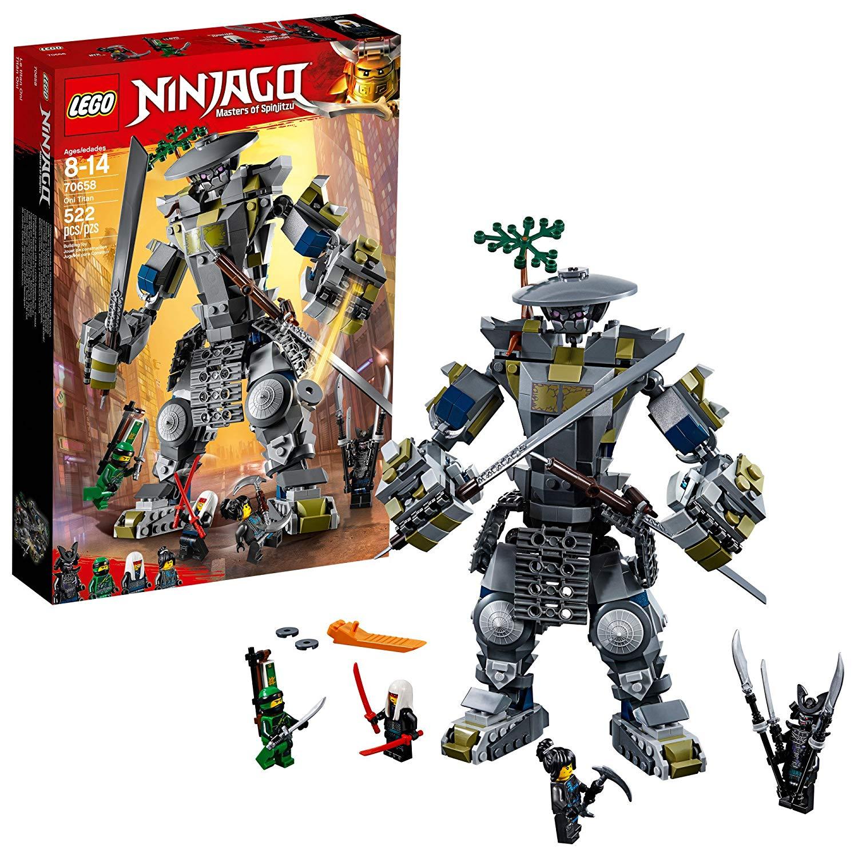LEGO NINJAGO Masters of Spinjitzu: Oni Titan 70658 Building Kit for $31.47