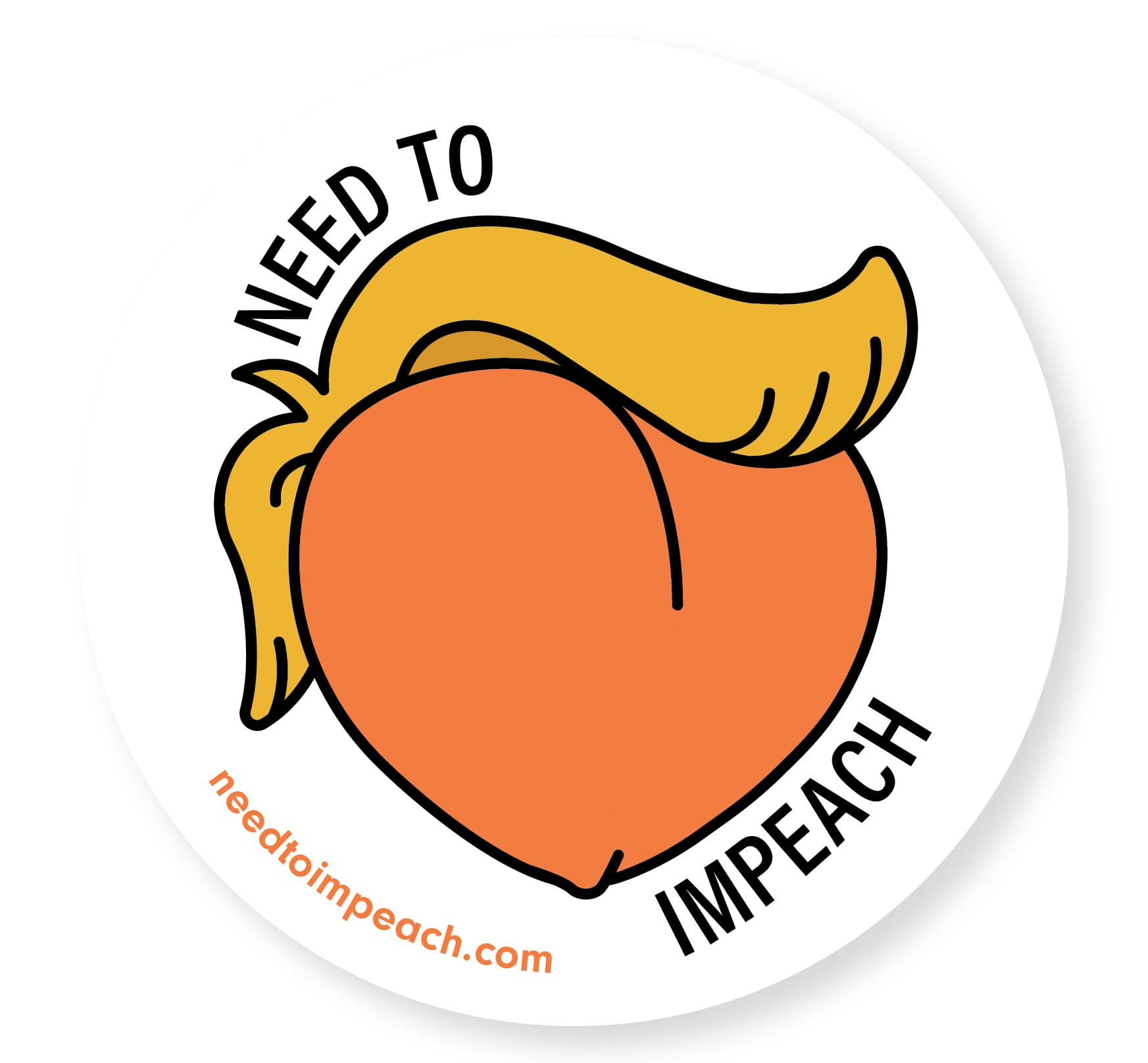 Free Need to Impeach Sticker *politics no need if you don't agree*