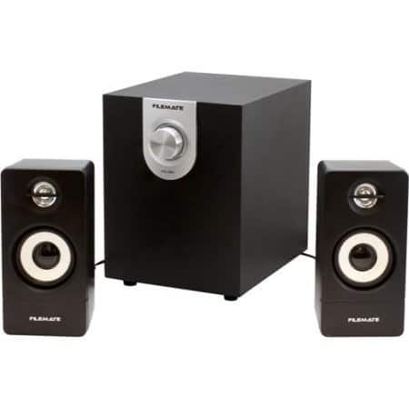 FileMate P2300 2.1-Channel 2 Satellite Speaker with Subwoofer  $14.88 -Walmart