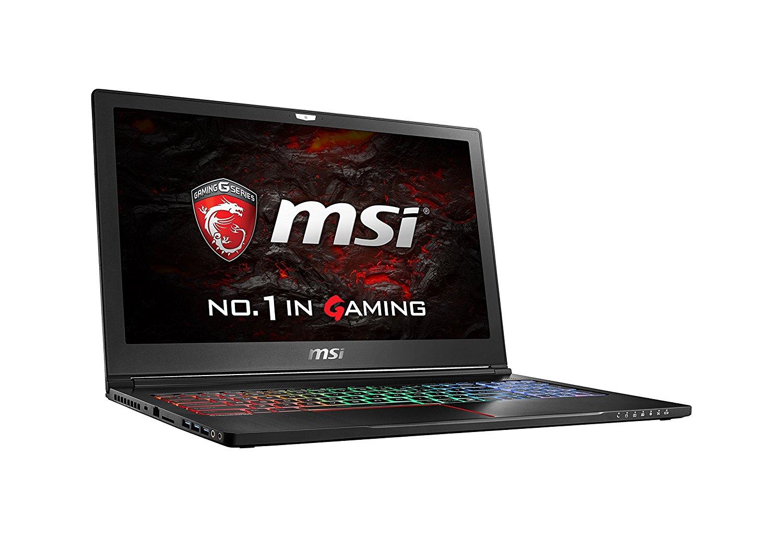 """MSI 15.6"""" GX63VR 4K-225 i7-7700HQ GTX1070 16GB 512 GB NVMe Gaming Laptop $1399"""