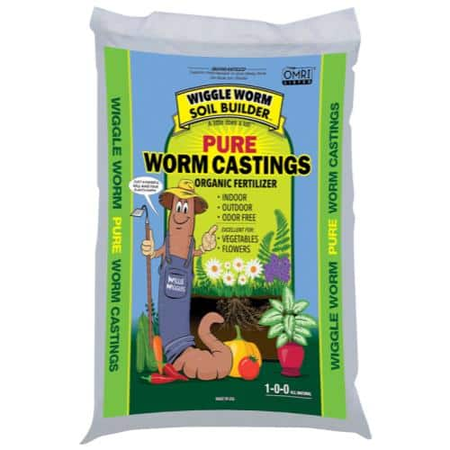 Unco Industries Wiggle Worm Soil Builder Worm Castings, 30-pounds $20.99