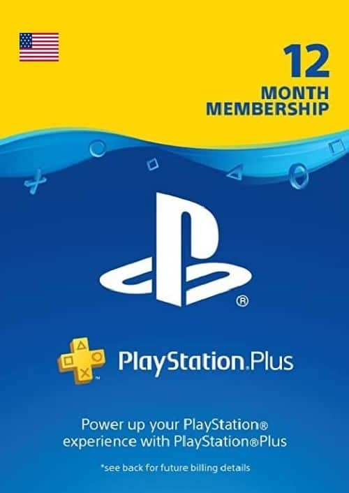 1-Year PlayStation Plus Membership (PS+) - PS3/PS4/PS5 Digital Code (USA) - $26.99