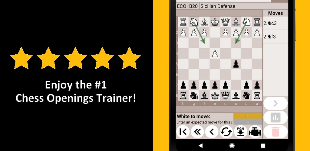 Chess Repertoire Trainer Pro - Build & Learn 0.99$ @ Google Play $0.99