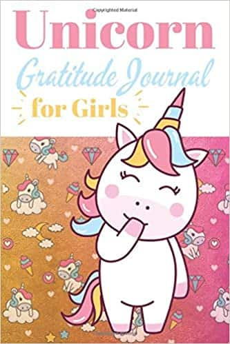 Unicorn Gratitude Journal for girls: Daily journal to work on gratitude and emotions Paperback $3.95
