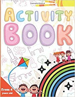 Activity Book: 100 Funny Games that will stimulate the brain of children from 4 years old Paperback $7.95