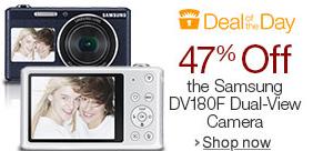 Samsung Electronics Dual-View Wireless Smart Camera $80 @ Amazon