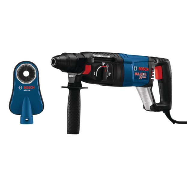 Bosch Bulldog Xtreme Rotary Hammer with Dust Shroud $181.89 @ Home Depot