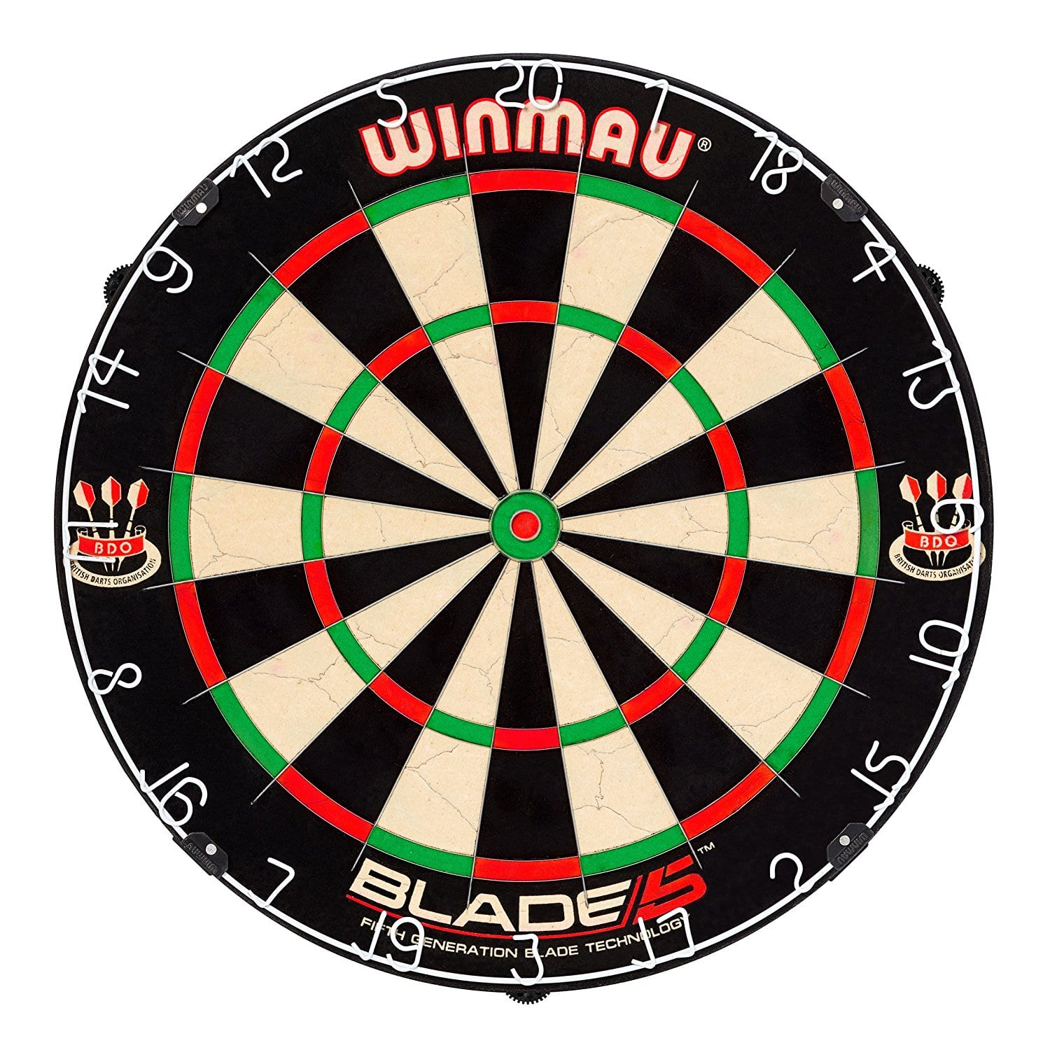 Winmau Blade 5 Bristle Dartboard - Amazon Deal of the Day - $45.49, Free Prime Shipping