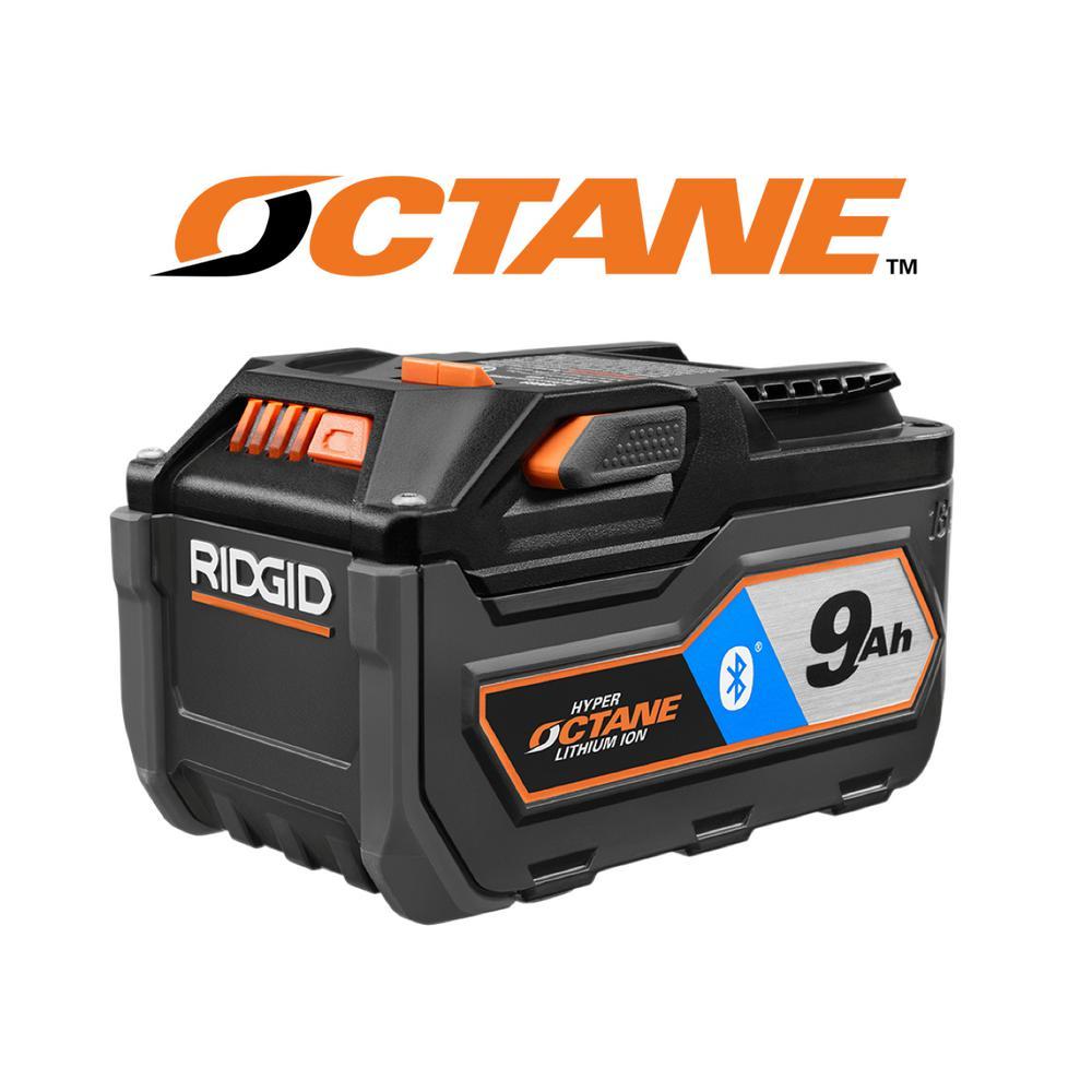 Ridgid 18-Volt OCTANE Bluetooth 9.0 Ah Battery - 50% Off at Home Depot - $99