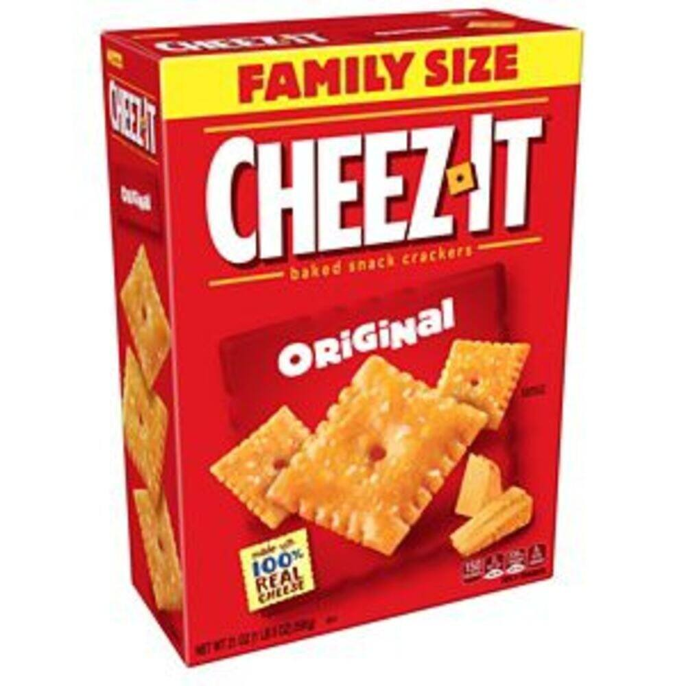 3-Pack of 21 Oz. Cheez-It Original Baked Snack Cheese Crackers $8.17 w/ 5% S&S
