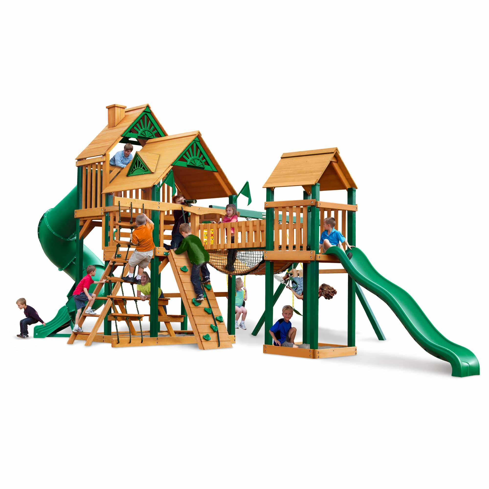 Swing Sets on sale at BJS.com, up to $1000 off. Treasure Trove $2400. all with free shipping