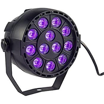 DJ UV Blacklight (36W 12LED DMX Auto, etc) $27 FS @Amazon