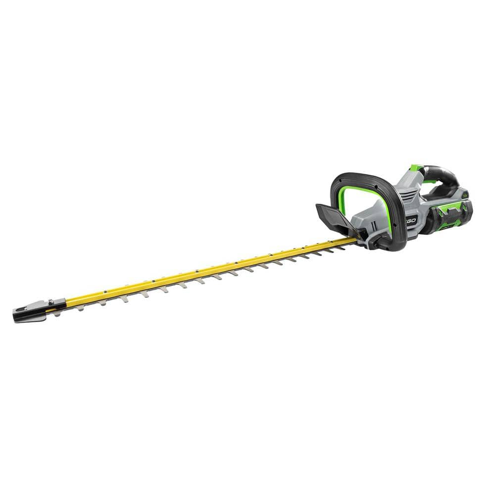 EGO Reconditioned 24 in. 56V Lithium-Ion Cordless Electric Brushless Hedge Trimmer with 2.5 Ah Battery and Charger Included - $139.30 shipped