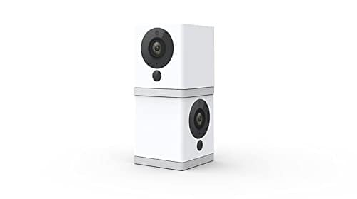 Wyze Cam 1080p HD Indoor Wireless Smart Home Camera with Night Vision, 2-Way Audio, Person Detection, Works with Alexa & the Google Assistant (Pack of 2) $32.04