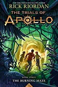 The Trials of Apollo, Book Three: The Burning Maze - $0.99 ebooks