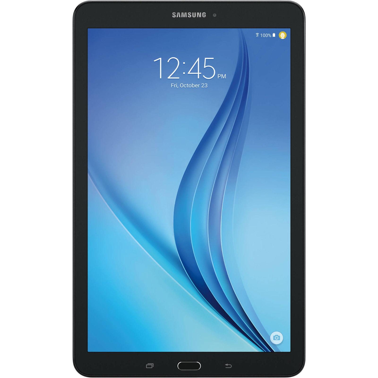 "Samsung Galaxy Tab E 8"" HD Display 4G LTE 16GB GSM Unlocked T377A $109 at eBay"