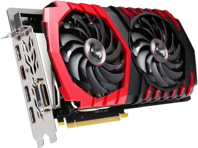 MSI GeForce GTX 1060 DirectX 12 3GB 192-Bit GDDR5 PCI Express 3.0 x16 - $189AR Newegg Shell Shocker