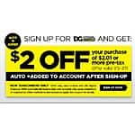 Dollar General $2 Off $2.01 or more pre-tax Digital Coupon Vallid 7/5-7/11 B&M