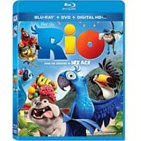 Walmart Deal: *Update* Rio standard DVD (+ $7.50 Rio 2 Movie Money) for $5 OR (Blu-ray + DVD + Digital HD + $7.50 Rio 2 Movie Money) (Widescreen)  $9.96 Walmart
