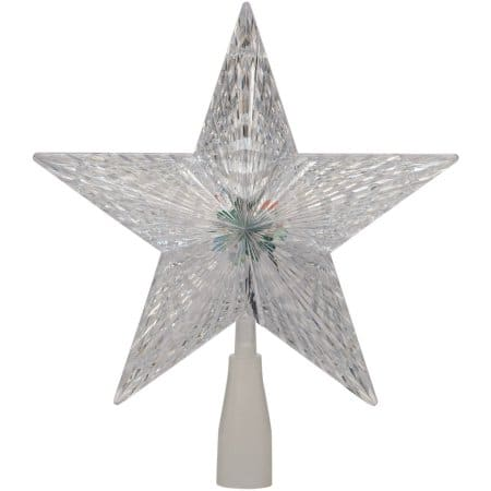 "Holiday Time Christmas Ornaments 10"" Crystal Star Tree Topper with LED Light - $2.66 Free Pickup Walmart YMMV"
